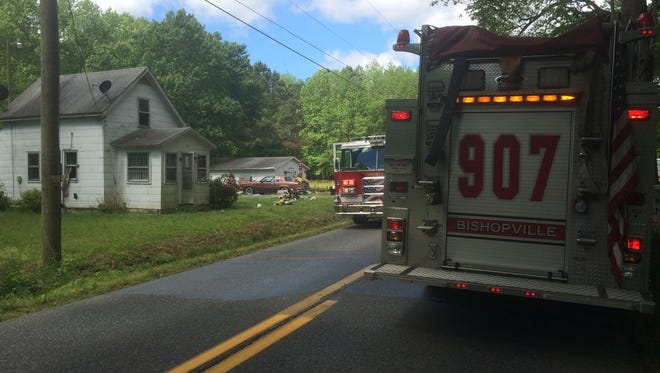 A Sunday morning house fire in Bishopville resulted in smoke damage but no injuries or structural damage, firefighters said.