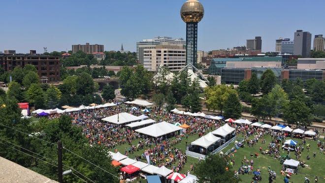 The Big Kahuna Wing Festival in World's Fair Park. The 2018 festival will take place June 16.