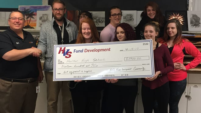 The HVS Fund Development Office, headed by Chris Ceresa, awarded a grant to support the increased development of a ceramics and pottery program at Harbor.