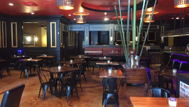 Creazian, a Vietnamese fusion restaurant, is scheduled to open in late May 2017 in Reno. A bamboo feature in the center of the main dining room hides a structural pole.