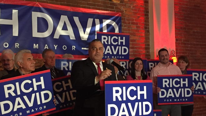 Mayor Richard David announced Thursday he'll be seeking re-election.
