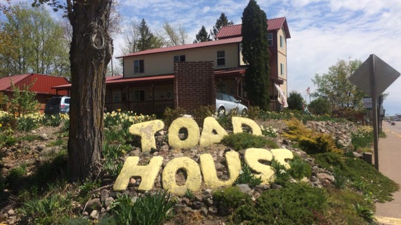 The Toad House, on the Highway 8 main drag of Ladysmith.