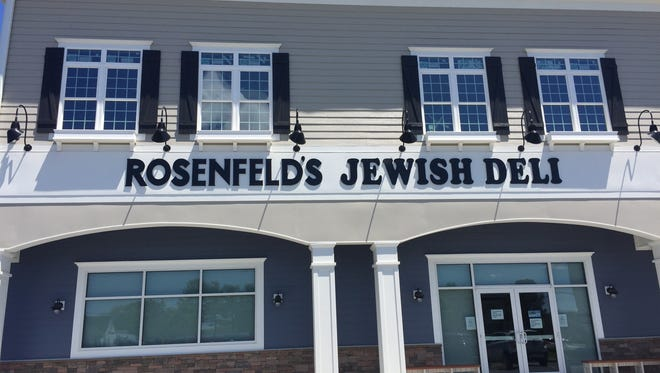 Rosenfeld's Jewish Deli is a new shop that opened in late April off Del. 1 near Rehoboth Beach. It will be open daily from 11 a.m. to 8 p.m.