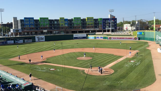 Cooley Law School Stadium will host Tuesday's Diamond Classic games.