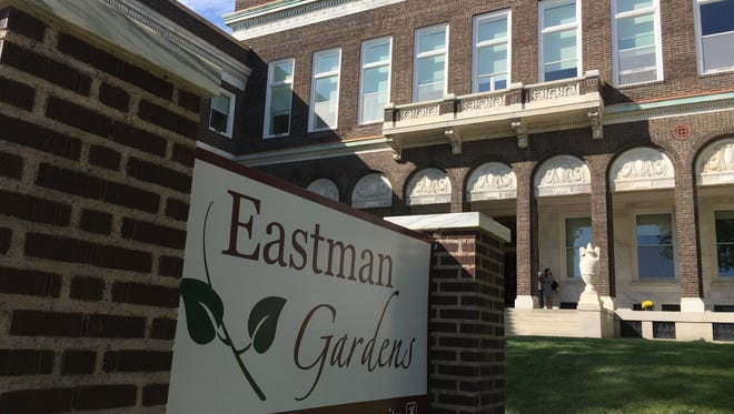 Eastman Gardens is a 52-unit apartment complex for people who are at least 55 years old. Eastman Gardens, formerly the Eastman Dental Dispensary in the Marketview Heights district.