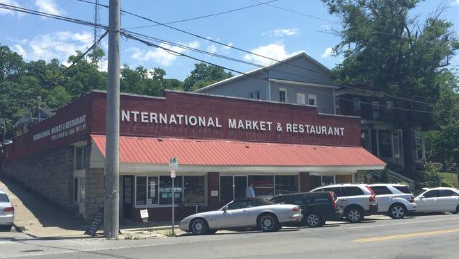 The International Market and Restaurant on Belmont Boulevard in Nashville.