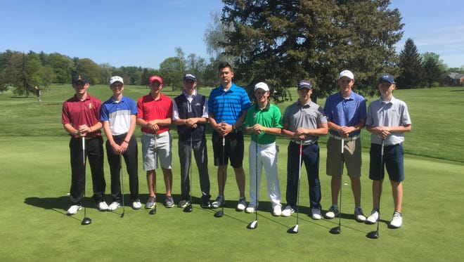 These boys qualified Saturday to represent Section 4 in state golf championships.