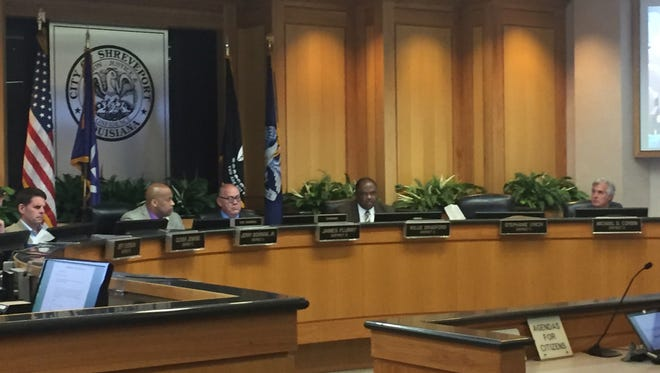 The Shreveport City Council broached the topic of its millage rates, up for a vote on Tuesday, at its Monday work session.