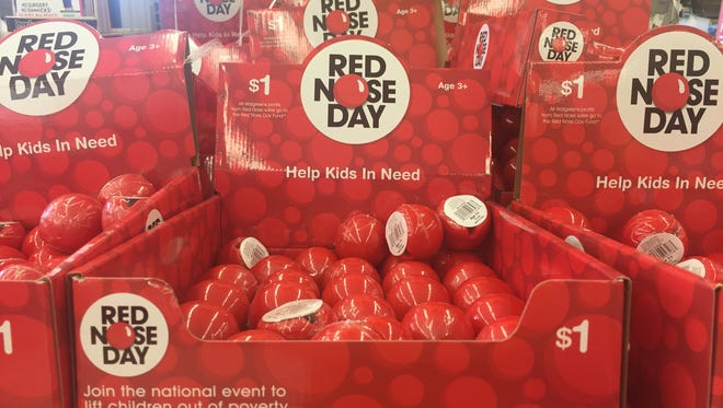 Thursday is Red Nose Day.