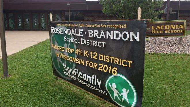 Laconia High School in the Rosendale-Brandon School District.