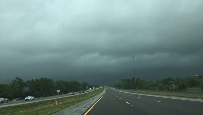 Scene driving from the northbound lanes of Interstate 75 on Thursday, May 25, 2017.