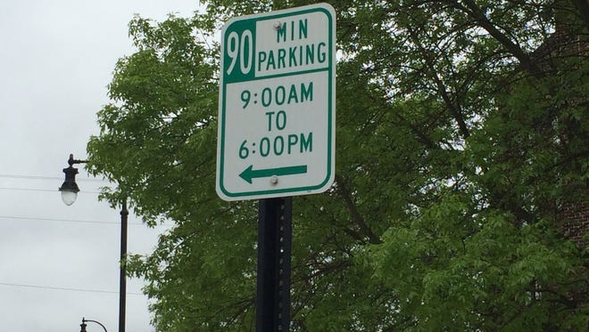 People visiting downtown Marshfield soon will see many of the 90-minute parking signs from peripheral areas of the downtown disappear.