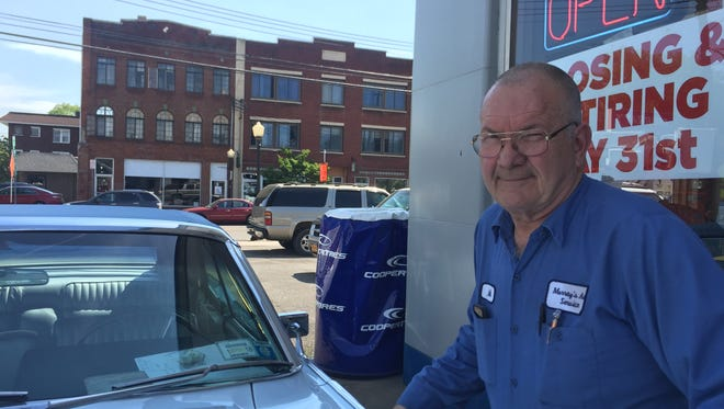Mike Murray will retire on May 31, closing Murray's Service Station on Binghamton's South Side.