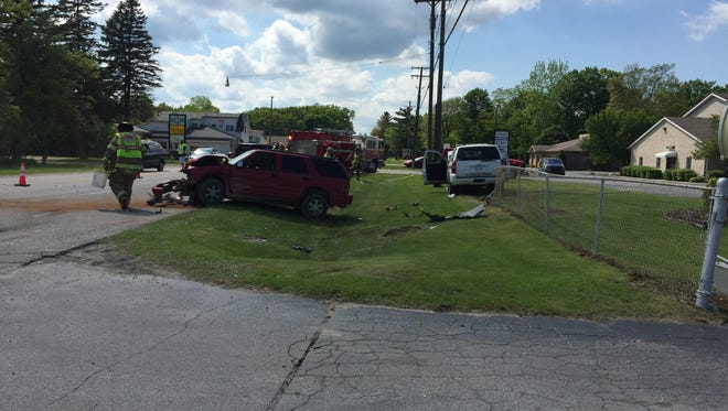 A deputy was involved in a crash in Kimball Township Saturday. The cause of the crash is under investigation.