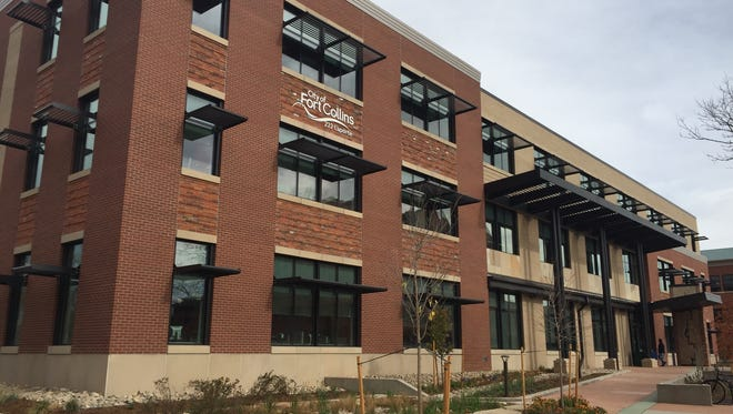 The new Fort Collins Utilities administration building at 222 Laporte Ave. has been recognized for being one of the most energy efficient buildings in Colorado.