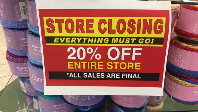 After announcing its closing, Mary Maxim is hosting a store closing sale until all items are gone.