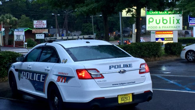 Tallahassee police fired a single shot during a traffic stop June 6 near Lake Ella Plaza after a driver rammed a patrol car. No one was injured.
