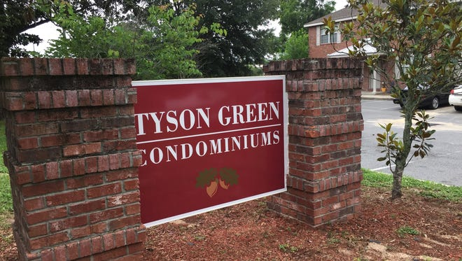 Tyson Green Condominiums was the site of a shooting which killed two people, including a 17-year-old girl, on Saturday night according to TPD.