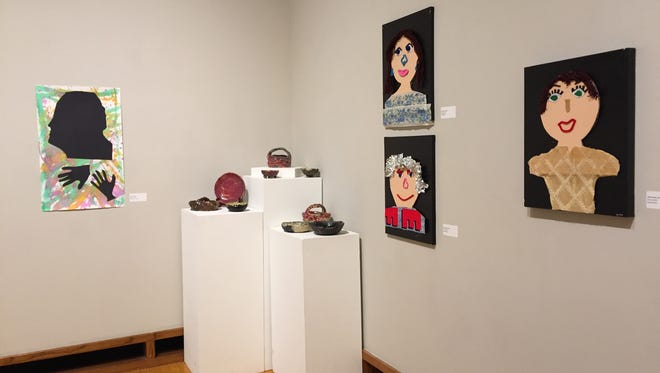 The Very Special Artists Exhibit features work from local artists with disabilities.