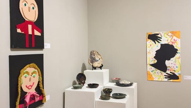 The Very Special Artists exhibit is on display now at the Paris Gibson Square Museum of Art.