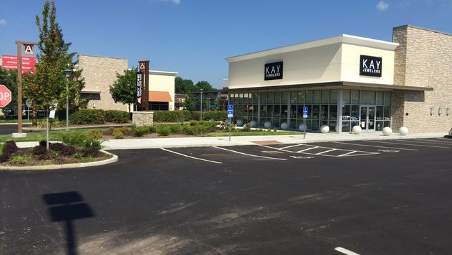 Businesses recently opened in two new out lots at Anderson Towne Center.