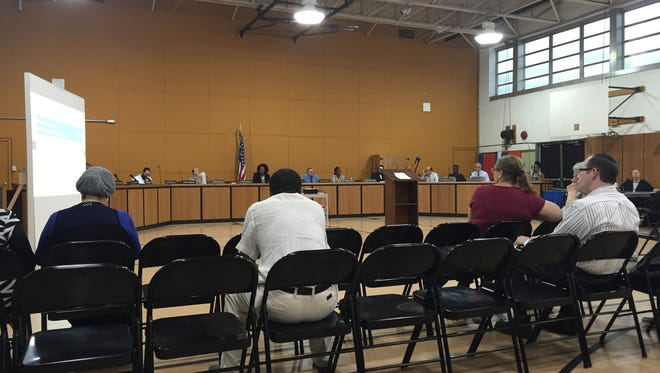 A sparsely-attended public hearing on East Ramapo's budget.