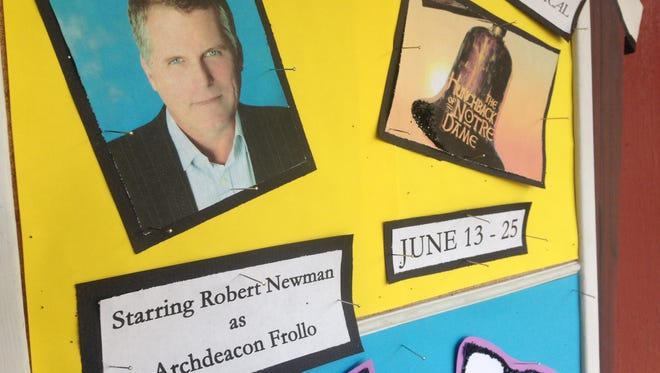 "Robert Newman is playing Frollo in ""Disney's The Hunchback of Notre Dame."""
