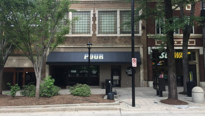 Tilt arcade bar will open in the former Pour Lounge at 221 N. Main Street late summer 2017.