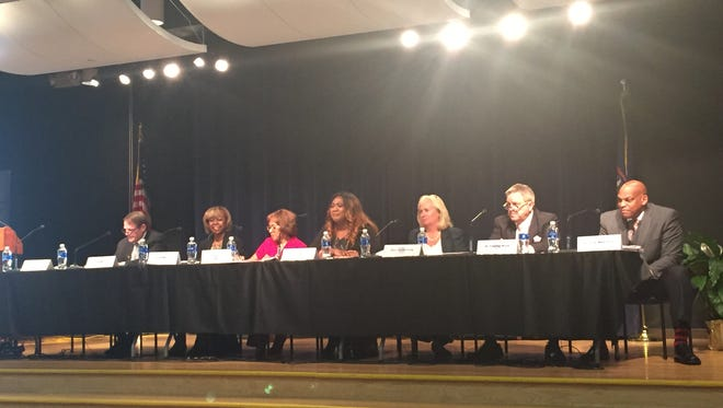 The Education Achievement Authority held its last meeting Tuesday.