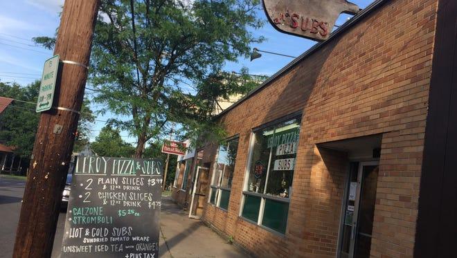 Leroy Pizza closed on Sunday, June 25.