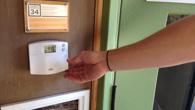 Programmable thermostats can help conserve energy, but if they replace an old mercury thermostat, the mercury must be recycled with care.