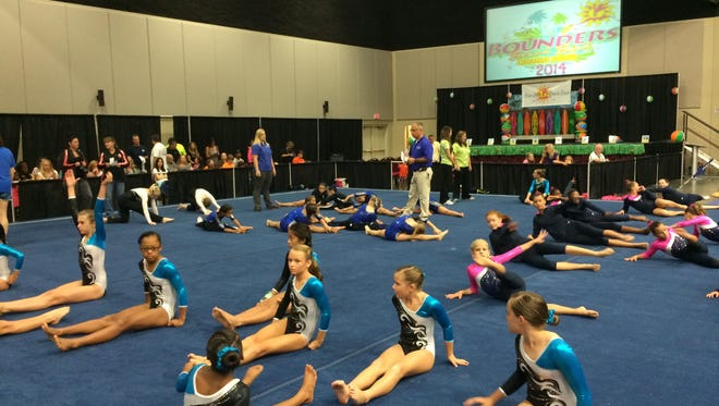 The Bounders Beach Bash gymnastics meet will be the inaugural event at the Foley Event Center in Foley, Alabama.