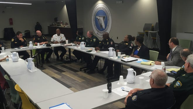 A contingent of Leon County's top law enforcement officials is looking at ways to change the community's approach to crime.