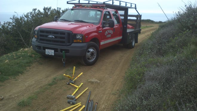 An Oxnard Fire Department equipment truck was reported stolen from a station early Monday morning.