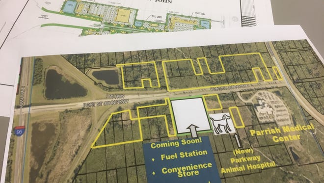 New development is in the works for Port St. John Parkway off Interstate I-95.