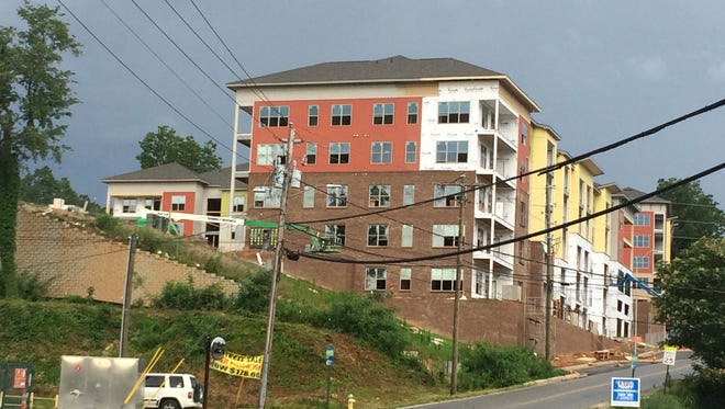 Developers are adding 309 residential units and 8,700 square feet of retail space in apartments on Fairview Road near Biltmore Village, which will add to traffic in the tourist area.