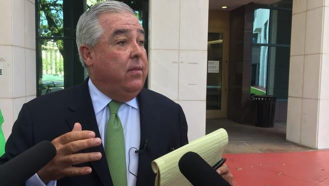 Attorney John Morgan filed suit challenging the ban on smokable medicinal marijuana.