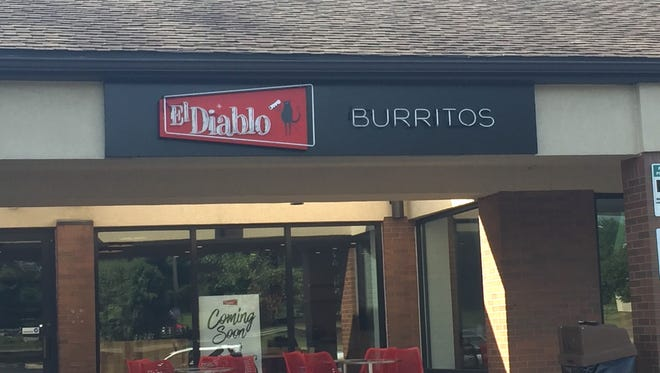 El Diablo Burritos opened a new Pike Creek store on Friday in The Shops at Limestone Hills. It's the fourth location for the locally-owned chain.