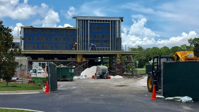 The Titusville Aldi store is under construction and will temporarily close Wednesday, June 12 for renovations inside. The store will reopen in August.