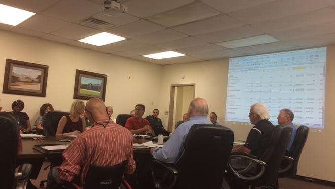 The Madison County Budget Committee met Tuesday to discuss the possibility of a tax increase.