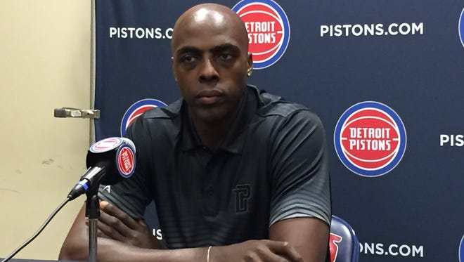 Pistons forward Anthony Tolliver