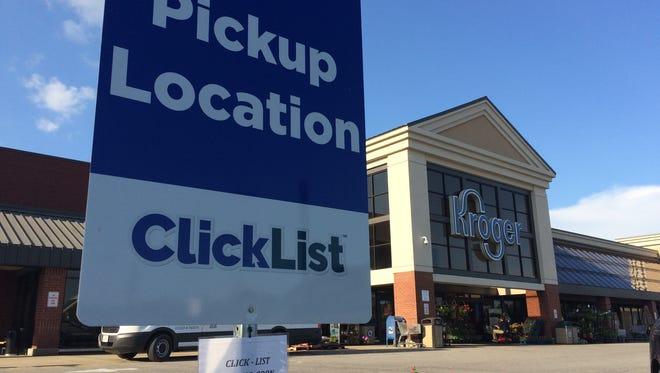 Dickson Kroger started ClickList shopping Wednesday.