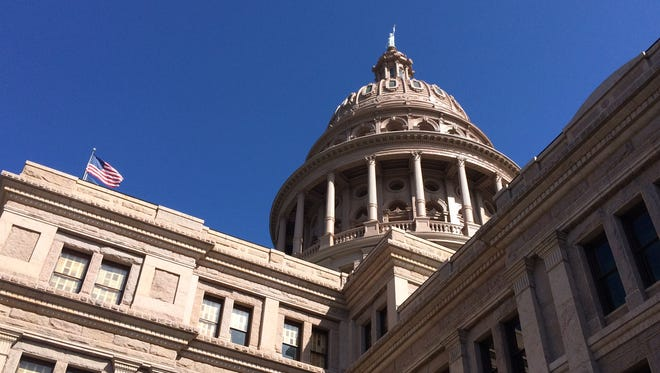 Legislators prepare for a special legislative session at the Texas Capitol in Austin.