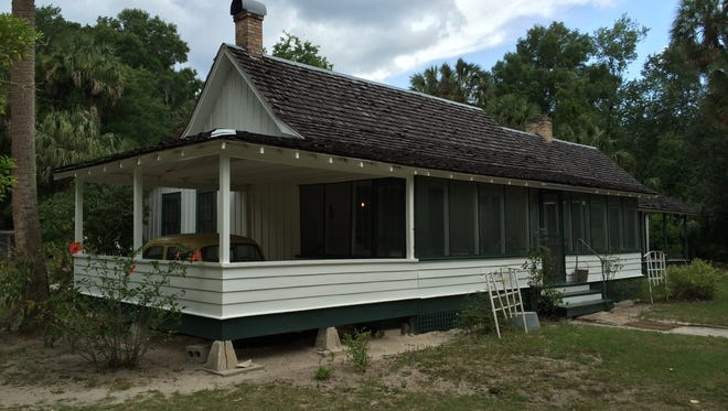 The Marjorie Kinnan Rawlings House is preserved just as it was when the famous Florida writer lived and worked there in the 1930s. Florida Historical Society.