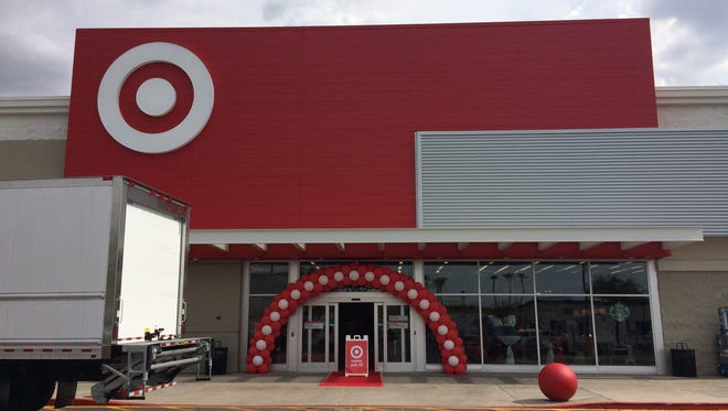 """Target celebrated the opening of Phoenix's first """"small-format"""" store on Tuesday, July 18, 2017."""