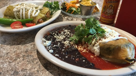 A trio of offerings for Collingswood's Farm to Fork Restaurant Week from Tortilla Press. The restaurant plans to feature small plates and sharing dishes this year.