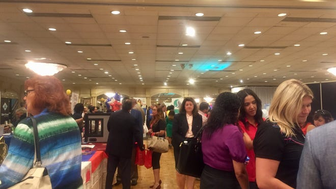 Attendants at the Middlesex County Chamber of Commerce Hispanic Business Expo.