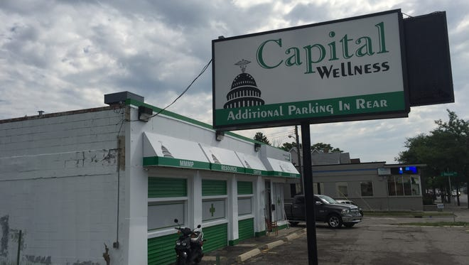 Capital Wellness, 1825 E. Michigan Ave., was burglarized Thursday by suspects who used a stolen truck to ram the building, according to police.