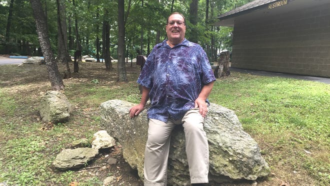 """Jeri Jones, program coordinator for York County Parks, retired in August. While he has many memories of the parks, """"certainly my real love is Christmas Magic."""""""