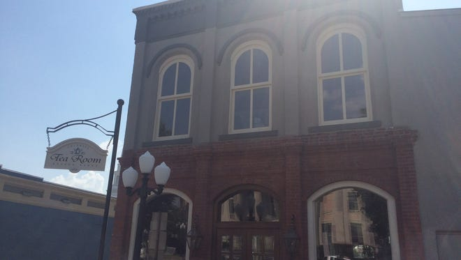 The Colonial Tea Room is located on 125 Court Square in Huntingdon.